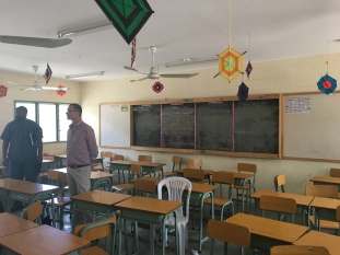 Newly built classrooms